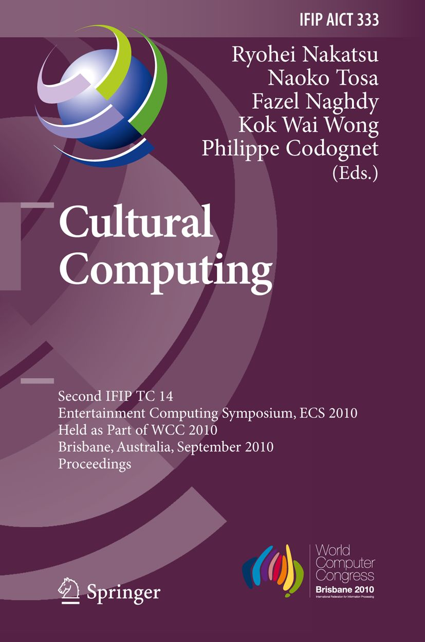 Cultural Computing - ECS 2010 - book cover